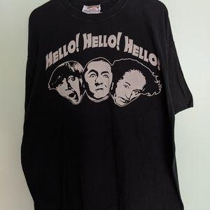 Vintage style Three Stooges tee XXL